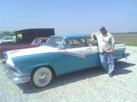 We have a 1956 Crown Victoria for sale. It is teal and