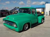 Total custom built 1956 Ford F-100 Big Window - This is
