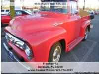 1956 Ford F100 Custom Cab, Call for mileage