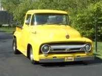 1956 Ford F100 Pickup. Newly rebuilt 377 Chevy, 400 SB