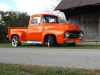 1956 Ford F100 Short Bed RWD. This is an extremely
