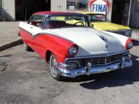 1956 Ford Fairlane, 312 Engine, Auto, A/C, Wire Wheels,