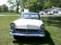 '56 Ford Fairlane 2 dr post. Tahitian