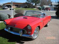 Year : 1956 Make : Ford Model : Thunderbird Exterior