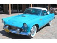 THIS BEAUTIFUL 1956 THUNDERBIRD IS A CALIFORNIA CAR