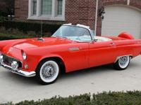 1956 Ford Thunderbird Convertible 312ci V8 Engine-For a