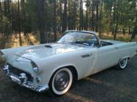 This Beautiful 1956 FORD THUNDERBIRD CONVERTIBLE is in
