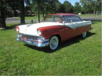 1956 Ford Victoria Complete restoration from top to