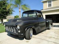56 GMC/Chevy truck. Totally reconstructed chevy 400ci 4