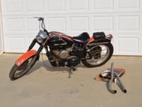 1956 Harley Davidson KH ModelWe inherited this bike