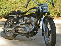 1956 Harley-Davidson KHRM ORIGINAL. Introduced in 1952,