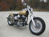 Original 74 cu Panhead motorPorted cylinder