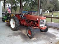 1956 International Harvester 300 Utility Tractor has