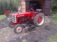 1956 Low-Boy cub. Runs great, rebuilt in 2006 along