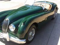 1956 JAGUAR XK 140 ROADSTER BRITISH RACING GREEN