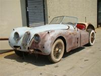 1956 Jaguar XK 140 Roadster. Matching #'s. Extremely