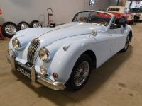 1956 Jaguar XK140 Drophead Convertible.  There are very