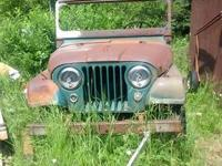 I have a 1956 Jeep cj5 for sale. Body is pretty good