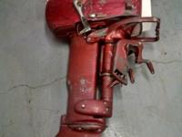 1956 Johnson 15hp Sea Horse outboard model# (fd-10)