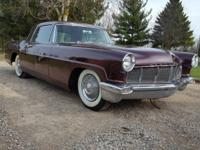 1956 Lincoln Continental Mark Mk II.  Good condition,