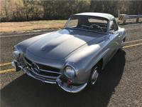 1956 Mercedes Benz 190SL. This 190 is a stunning car in