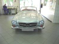 1956 Mercedes-Benz 190 SL-Class Convertible.  Great old