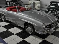 1956 MERCEDES BENZ 190 SL FULLY RESTORED - COLLECTOR