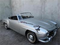 1956 Mercedes Benz 190SL Roadster Convertible 1956