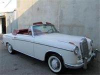 1956 Mercedes Benz 220S Ponton Cabriolet!! Here is a