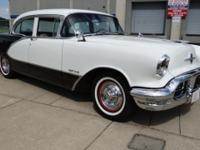 1956 Oldsmobile 98. Actually nice 2 owner automobile,