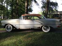 I have a 1956 Oldsmobile incredibly 88 antique car for