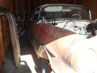 1956 Pontiac Star Chief 2DR HT ..Project Car ..55,830