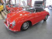 1956 Porsche 356 Speedster Replica, This will put a