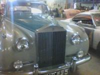 I have a wonderful Right hand Drive 1956 Rolls Royce