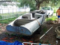 This is an all aluminum boat, built in 1956. From my