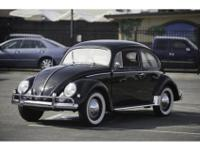 1956 Volkswagen Beetle CoupeNew to our Redwood City