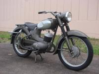 Rare 1956 Yamaha YC1 YA1 Aka Tombo YDS1 YDS2. Bike has