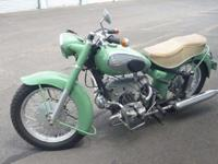 This bike is primarily initial, with one repaint. The