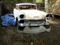 1956 Chevy Bel Air Nomad 2 Door Wagon Project . It's a