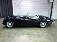 The XK140 MC is a very hard Jaguar to find and is know