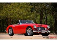 This 1957 Austin Healey 100-6 Convertible . It is