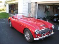 1957 Austin Healey 100/6 BJ8. 57 bn4 100/6 everything