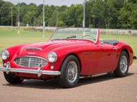 1957 Austin-Healey 100-6 - Red Hot Wow Factor