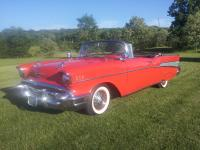 This 1957 Chevrolet Bel Air Convertible features...