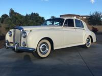 1957 Bentley S1 Series USA Saloon.  THIS IS A VERY RARE