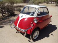 "1957 BMW ""Isetta"" 300 coupe; nicely restored example;"