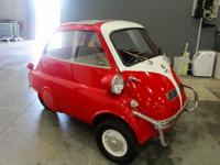 1957 isetta coupe just in from private estate. runs and