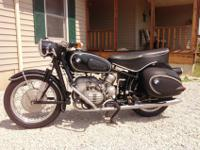 1957 R50 BMW. I am the 2nd owner. I purchased it from