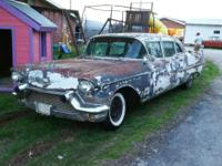 1957 Cadillac Fleetwood Limo with lots of options