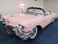 1957 Cadillac Series 62 Convertible Chassis Number: